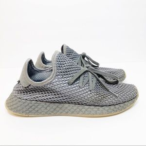 Adidas DEERUPT RUNNER SHOES Grey Cloud cq2627